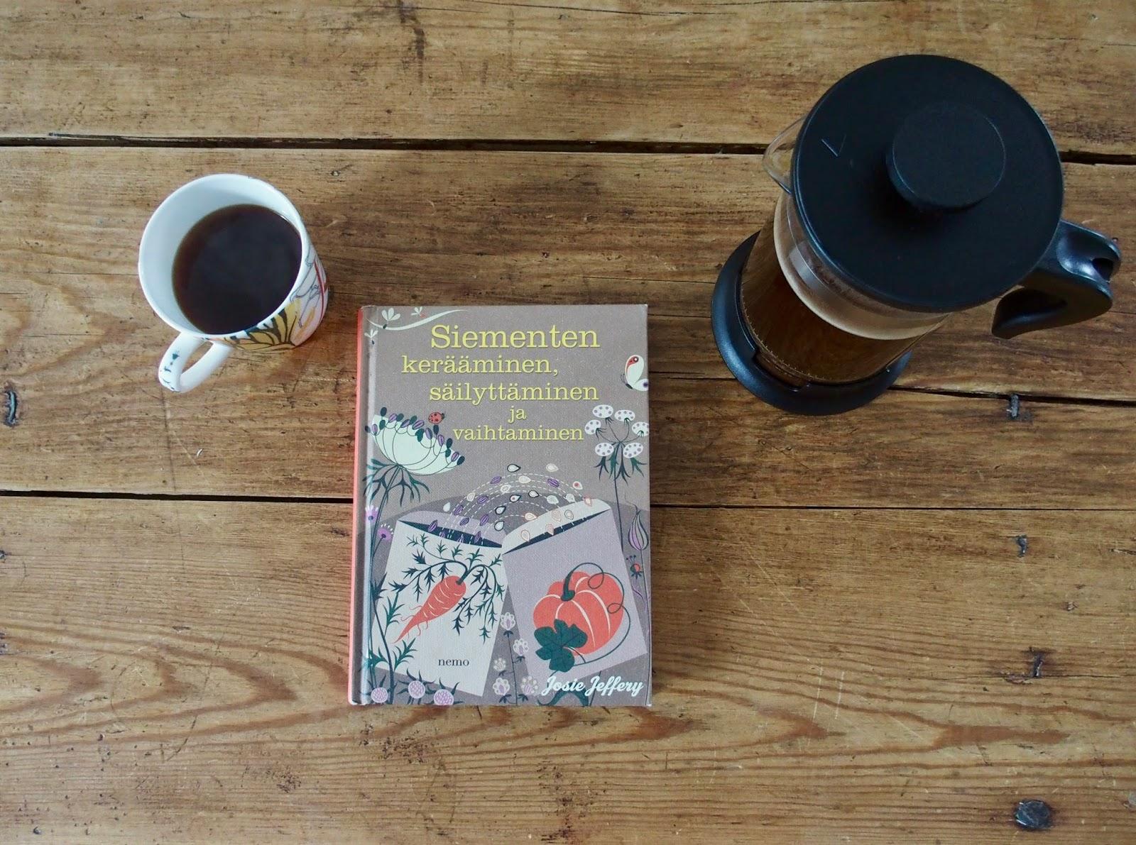 Siementen keraaminen, sailyttäminen ja vaihtaminen, Josie Jeffery kirjaesittely
