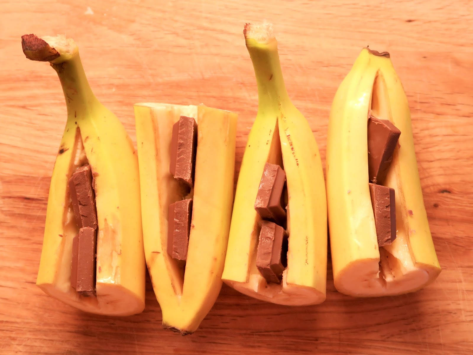 Suklaata ja banaania