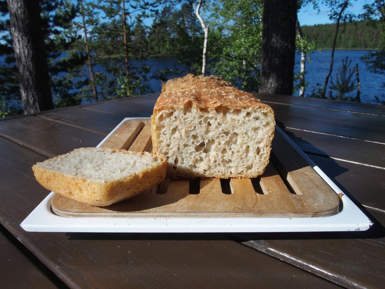 aamulla valmis leipa