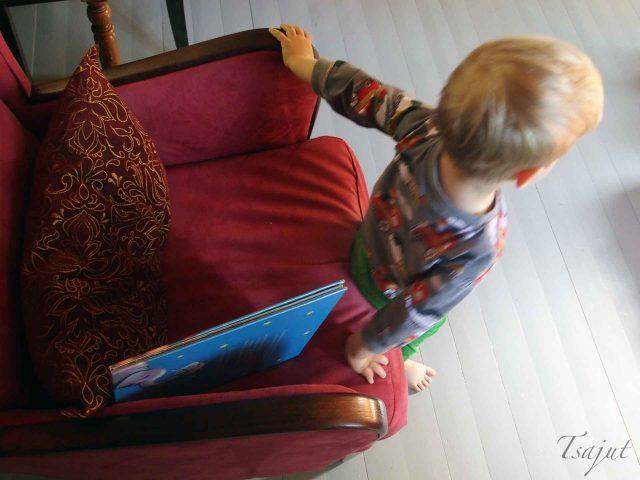 lapsi on lukenut kirjan